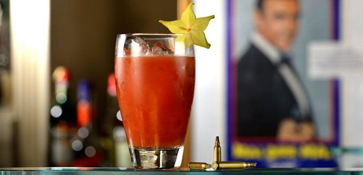 The James Bond cocktails: Bloody Mary